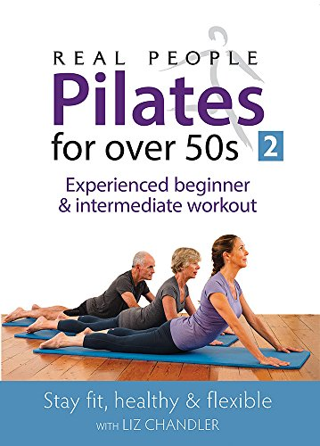Pilates for Over 50s 2 - Experienced beginner & intermediate workout. [DVD]