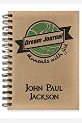 Moments with God Dream Journal Hardcover