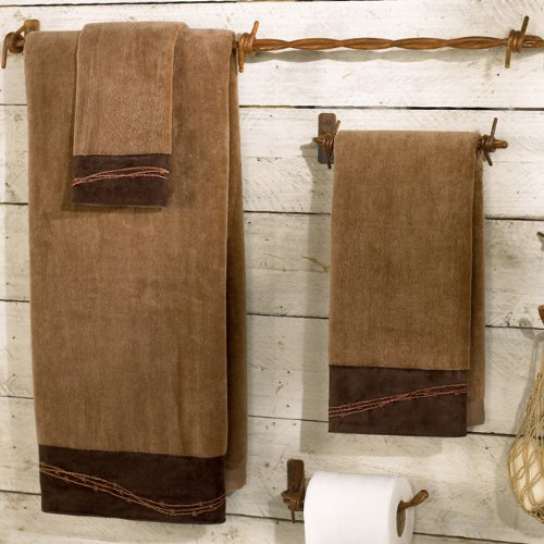 Barbwire Towel Set - Mocha ()