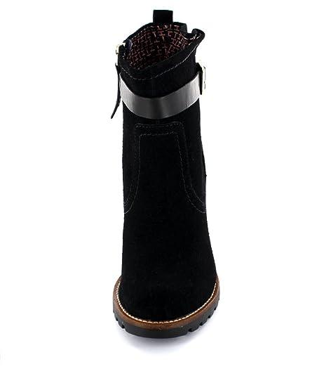 Botines Tommy Hilfiger ISABELLA 4C Azul marino - Color - AZUL, Talla - 39: Amazon.es: Zapatos y complementos