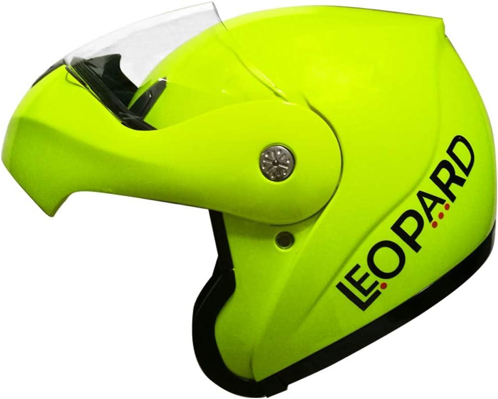 Leopard LEO-717 Casco Modulare Integrale Donna e Uomo Omologato ECE