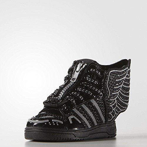 44e9354eb Adidas ObyO JS Jeremy Scott Wings 2.0 Mesh S77840 Black White Infants Kids  Shoes (