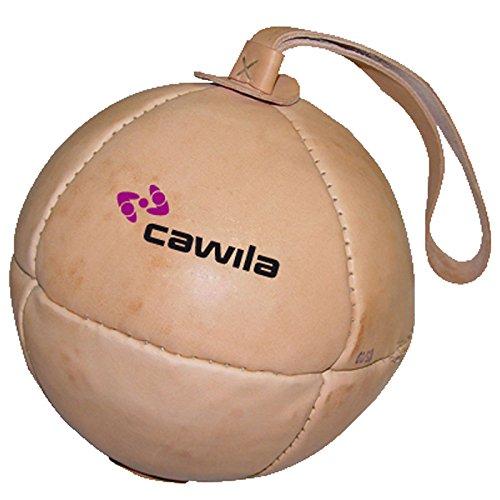 Leder-Schleuderball verschiedene Größen von Cawila