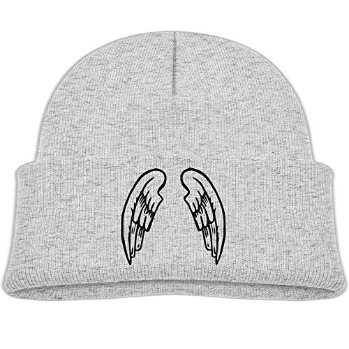 HOOAL Angel Wings V1 Baby Boy Winter Warm Hat, Lovely Knit Beanies Cotton Cap for Girls and Boys ()