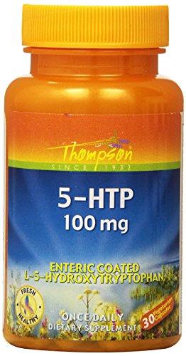 Thompson 5-HTP Veg Capsules, 100 Mg, 30 - Hydroxytryptophan Mg 100 Capsules 30