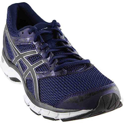ASICS Men's Gel-Excite 4 Running Shoe (14 D(M) US, Blue/Black/Silver)