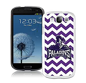 NCAA Furman Paladins 02 White Customize Samsung Galaxy S3 I9300 Phone Cover Case