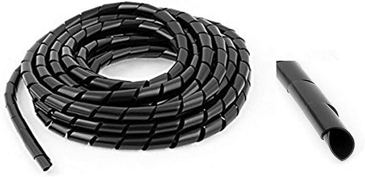 AISIBO - Cable Organizador de Espiral para televisor y PC, Cable ...