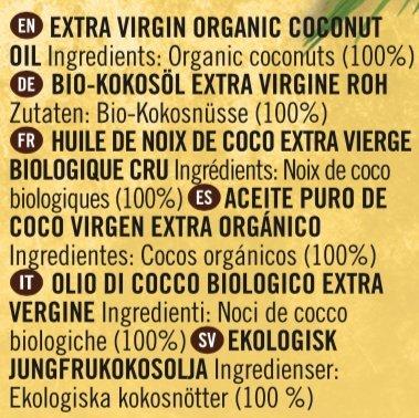 Aceite de coco orgánico Merchant
