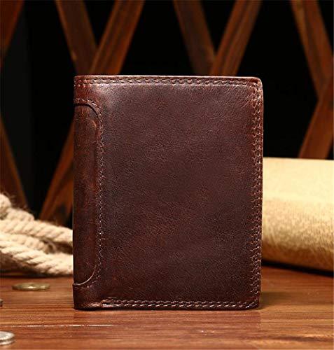Homme 10 Pour Portefeuille Rétro Style Court Paragraphe cartes Yter Homme 5 12 Paquet Bancaire 1cm Porte Carte × xIqHgaX
