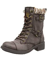Rocket Dog Thunder Military Ankle Boots - Black, Brown, Tan, Black Galaxy, Brown Galaxy, Grey