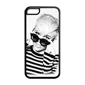 Pop Music Singer Miley Cyrus TPU Inspired Design Case Cover Protective For Iphone 5c iphone5c-NY212