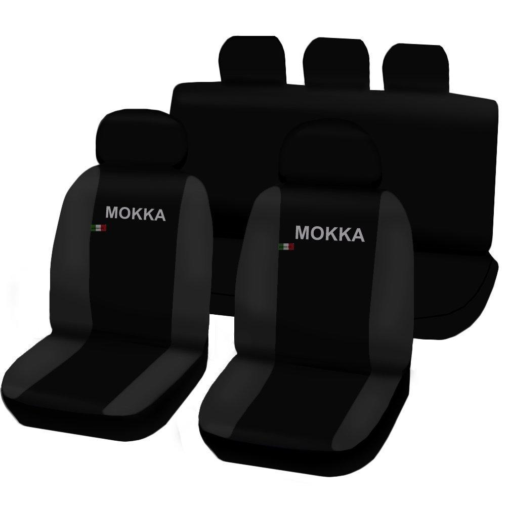 Lupex Shop Mokka No GS Car Seat Cover Black//Dark Grey