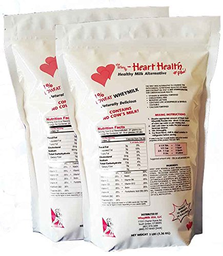 Cheap New Heart Healthy Whey Milk Nutritional Lactose Supplement (Pack of 2)