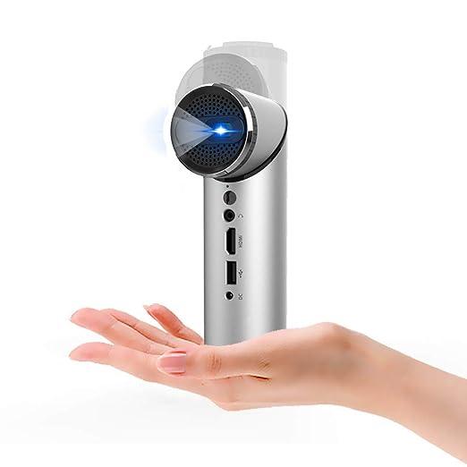 Mini proyector inteligente de wifi con lente girada de 90 ...