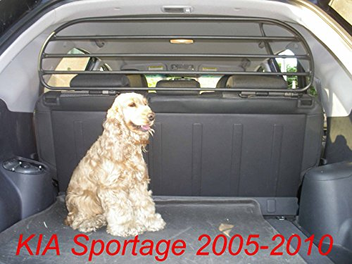 Dog Guard, Pet Barrier Net and Screen RDA65HBG-M for Kia Sportage, car model produced from 2005 to 2010, for Luggage and Pets