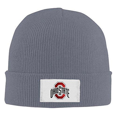 Amone Ohio State Universit Winter Knitting Wool Warm Hat Asphalt (Skechers Headphones)