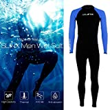 B5645ells Diving Suit Full Body Stretch Anti-UV Quick-Dry Swimming Surf Snorkeling Clothes - L