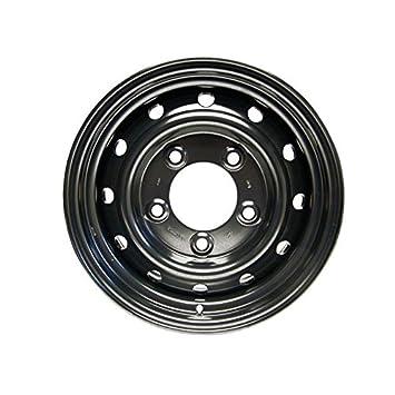 Llanta acero renforcee Tubless Type Wolf 16 x 6.5 negra para Defender para Land Rover - anr4583pm: Amazon.es: Coche y moto