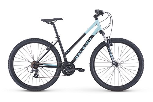 Cheap Raleigh Bikes Eva 1 Women's Recreational Mountain Bike, Black, 19″/Large