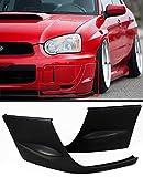 FOR 2004-2005 SUBARU IMPREZA WRX STI GD 2PC FRONT BUMPER SIDE SPLITTERS COVERS CAP
