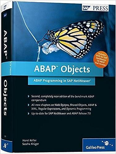 EPUB [DOWNLOAD] ABAP Objects: ABAP Programming in SAP NetWeaver Book