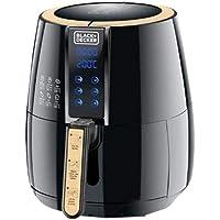 Black+Decker Digital Air Fryer Aerofry, Black, 4 litres, Af400-B5, 2 Year Warranty