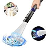 Universal Vacuum Cleaner Attachment, Dust Brush As Seen On TV,Dirt Remover with Strong Suction,Flexible Tube Cleaning Tool for Car,Air Vents,Corners,Pets, Drawers,Home, Furnitures (Black)