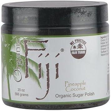 Organic Fiji Sugar Polish Pineapple Coconut – 20 oz