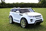 Rocket Range Rover HSE Style Electric Battery Ride on Jeep - 12v - 3 Colours (White) by Rocket