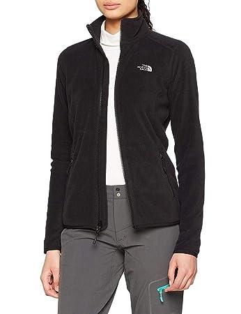 472fd30c175 The North Face Women W 100 Glacier Full Zip Outdoor Jacket, Black (TNF Black