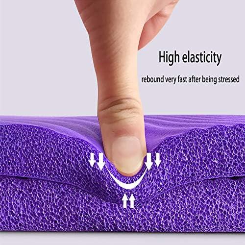 Guai Tapis Confort,Tapis de Yoga NBR 185 × 80 cm 15 mm ...
