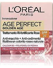 L'Oréal Paris Age Perfect Golden Age gezichtscrème, anti-aging effect voor rijpe huid, SPF 20, verzorgt de huid diep, 50 ml