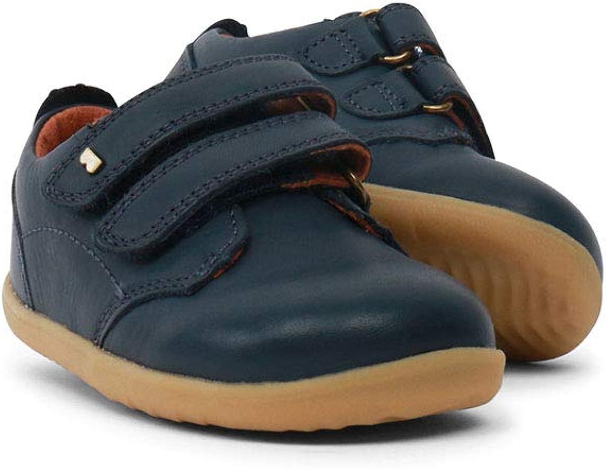 Bobux I-Walk Port Dress Shoe Brown con fodera in pelle Scarpe sportive casual in pelle