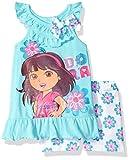 Nickelodeon Girls Dora The Explorer 2 Piece Short Set