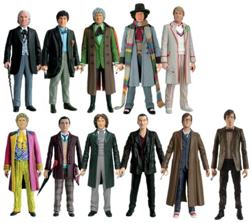Character Options Doctor Who 11 Doctors Action Figure Collector Set ()