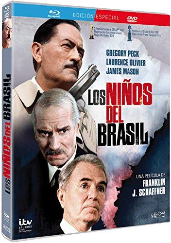 Los Niños del Brasil (Blu Ray + Dvd) The Boys From Brazil [ Non-usa Format: Pal -Import- Spain ]