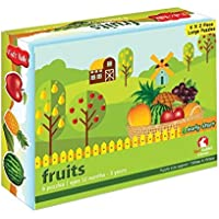 Kidz Valle Fruits Puzzles 6 x 2 Pieces 12 Months - 3 Years (Puzzles for Kids, Floor Puzzles)