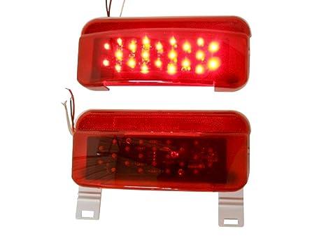 Gizmo Supply Co - Luces LED para autocaravanas y caravanas, traseras, de freno,