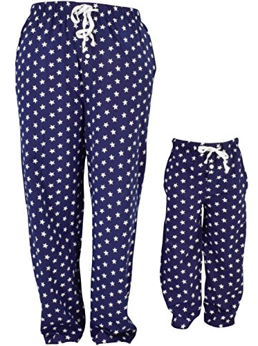 UB Adult American Flag Stars 4th of July Matching Family Pajama Pants (Adult M) -