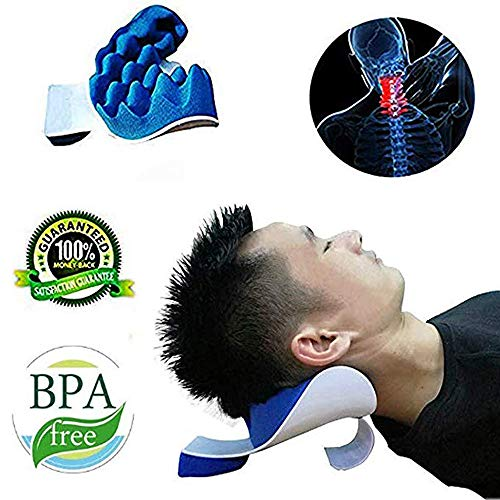 Best Neck and Shoulder Relaxer Traction Device for Pain Relief Management and Cervical Spine...