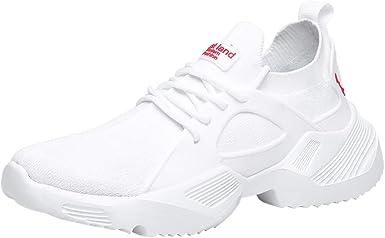 ZARLLE Zapatos de Hombre Respirable Zapatos Deportivos,Verano ...