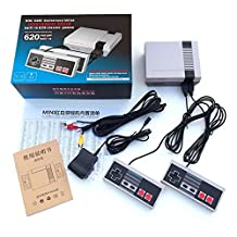 Mini Retro NES Classic Mini Game Consoles Built-in 620 TV Video Game With Dual Controllers (U.S. regulations)