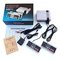 Mini Retro NES Classic Mini Game Consoles Built-in 620 TV Video Game With Dual Controllers (European regulations)