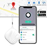 Key Finder Tracker for Wallet - Anti-Lost Key Finder GPS Bluetooth Smart Tracker Locator for Find Phone, Pets, Bags and Glasses, Luxsure Item Finder Lost Keys Finder Compatible for iOS/Android (White)