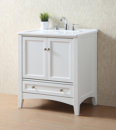 Stufurhome GM-Y01W 30.5-Inch Pure White Single Laundry Sink by Stufurhome (Image #4)