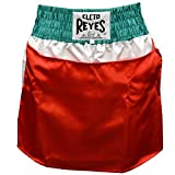 Cleto Reyes Women's Satin Boxing Skirt Trunks - Mexican Flag