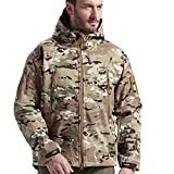 Product review for Special Ops SoftShell Jacket Fleece Waterproof Coat Windproof Outwear Camouflage Hunting Jacket