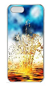 iPhone 5 5S Case Goldwater rhythm PC Custom iPhone 5 5S Case Cover Transparent