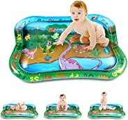 PELLOR Inflatable Water Mat Tummy Time Baby Toddlers Play Mat Toys Suitable for 3 -12 Months Newborn Boy and G